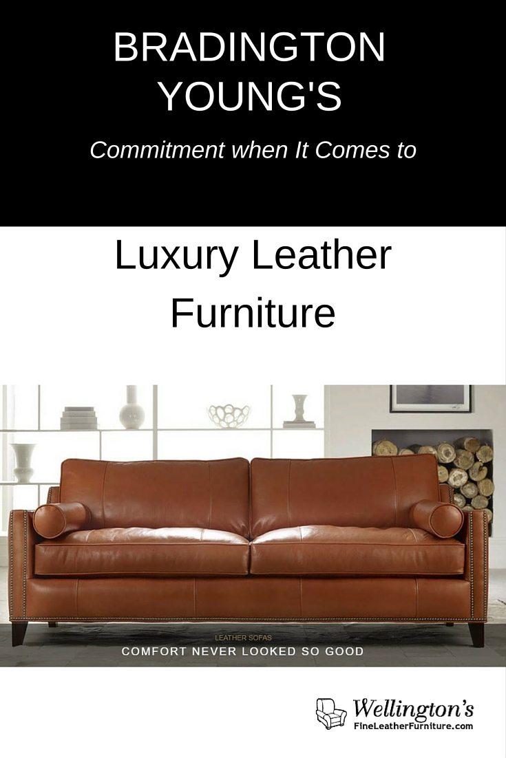 Bradington Young leather furniture