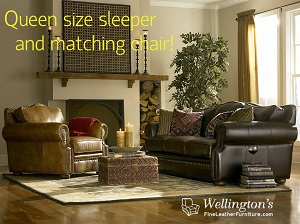 Benefits of a leather sofa sleeper