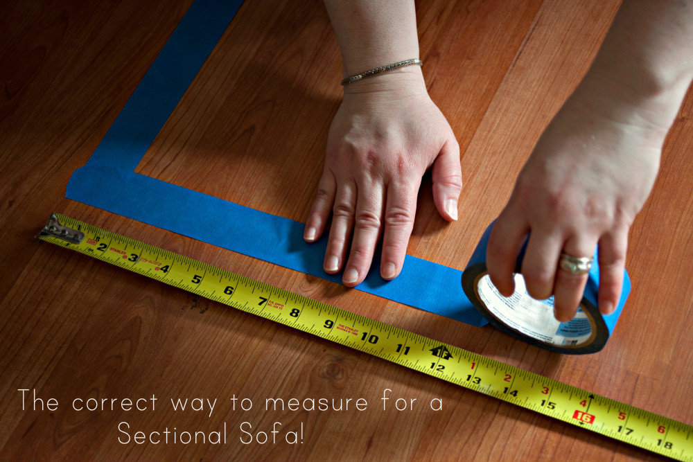 The Correct Way To Measure Your Room For A Sectional Sofa