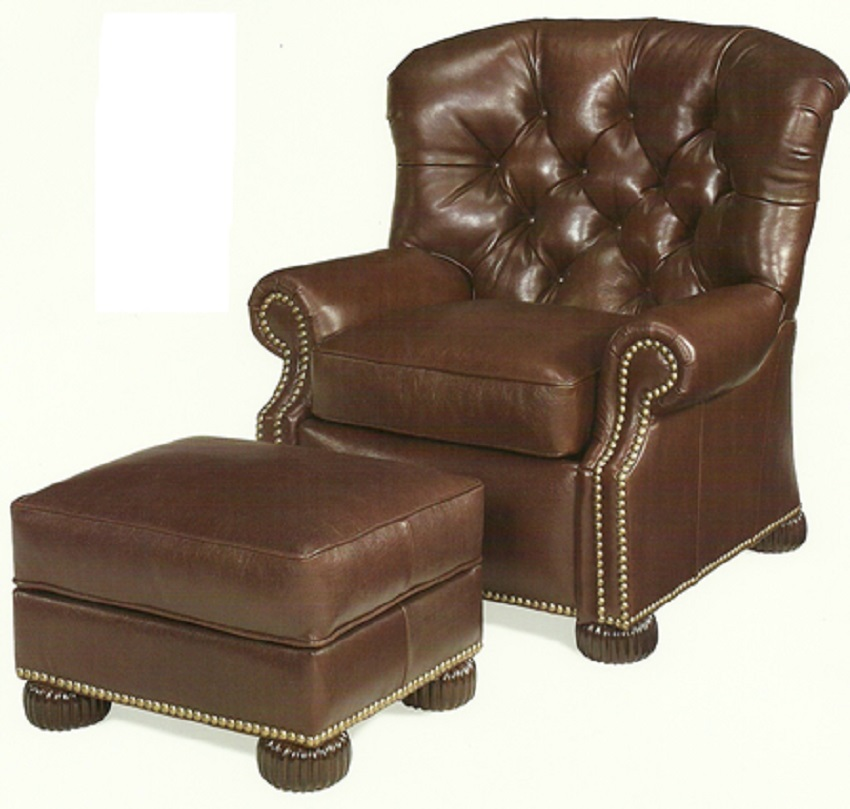 Beauregarde Leather Chair