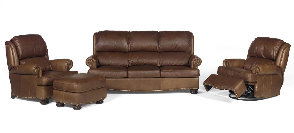 Troy Leather Sofa