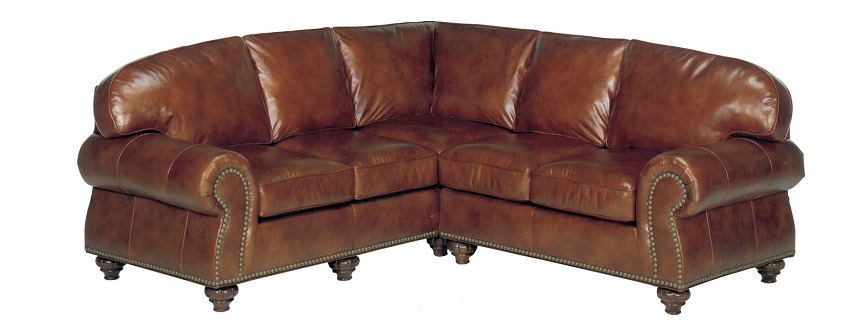 Branson Leather Sectional