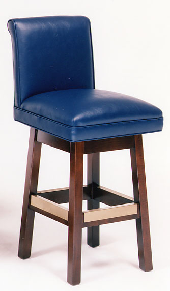 Dell Leather Barstool