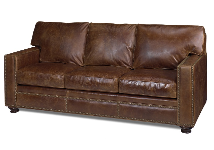 Butte Leather Loveseat