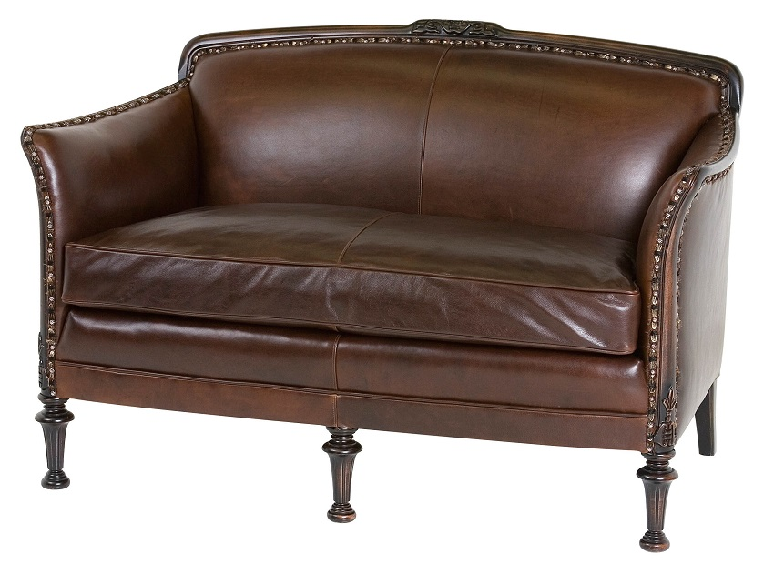 Leather Settee Baxter Leather Settee