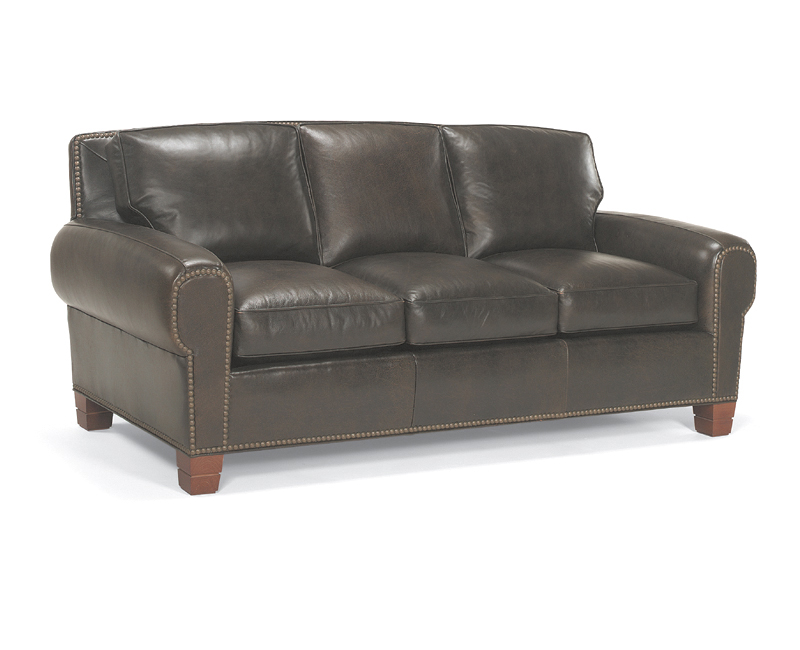 Mckinley Leather Sofa Images Living Room Glamorous Navy