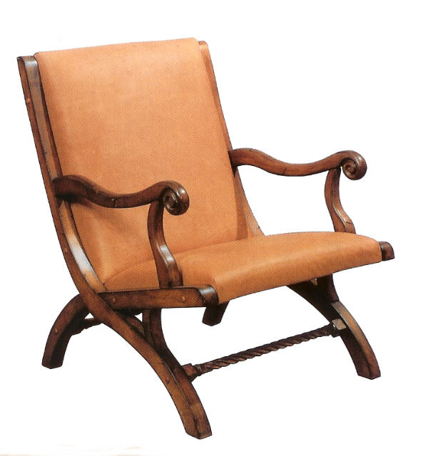 Adirondack Leather Chair