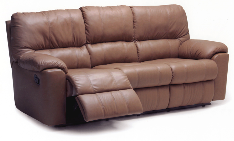 Picard Leather Reclining Sofa