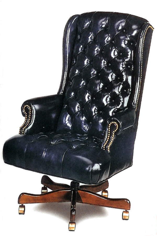 American Leather Executive Chair (Swivel Tilt)