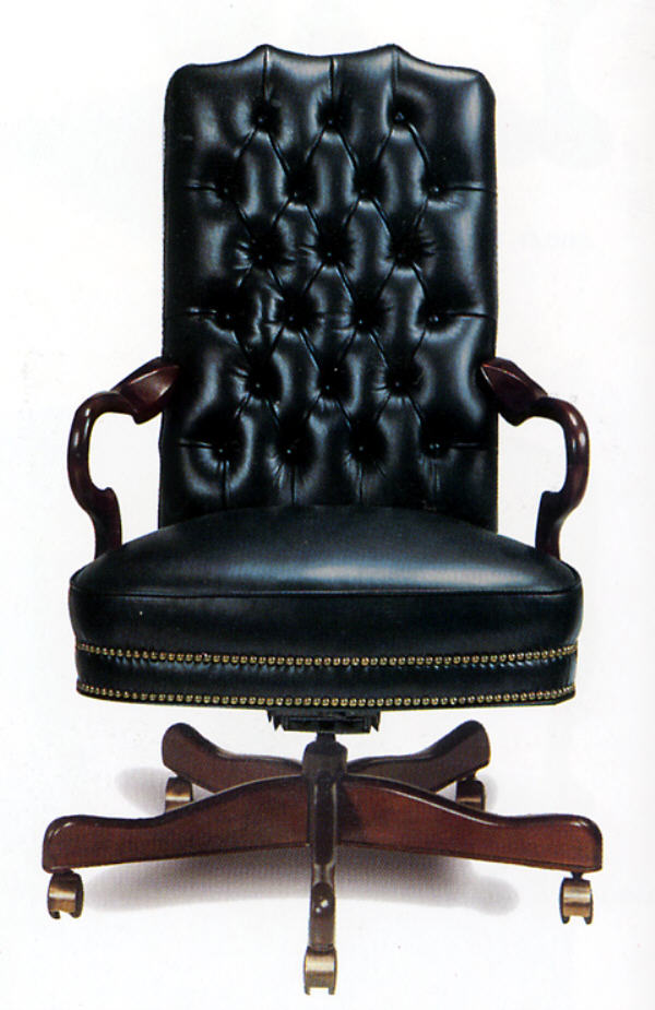 Stallings Leather Swivel Tilt Chair