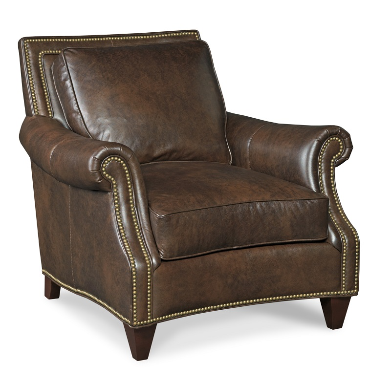Bates Leather Chair