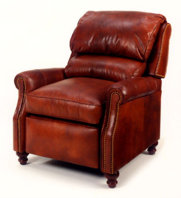 Alan  Leather Recliner