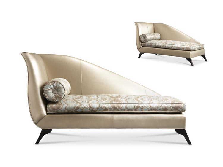 Portland Leather Right or Left Facing Chaise
