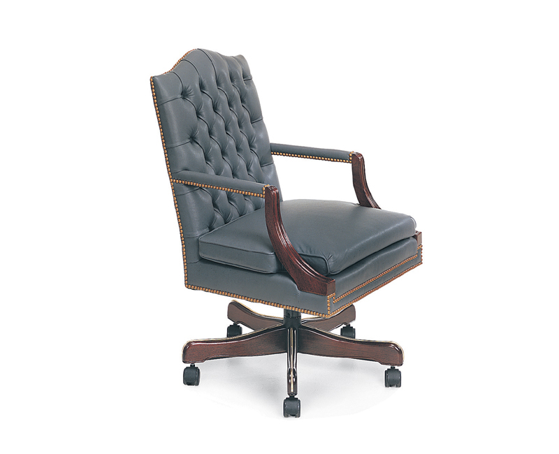 Newton Leather Executive Chair
