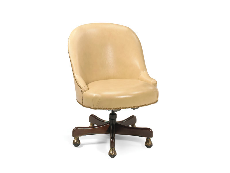 Operators Leather Swivel Tilt Chair