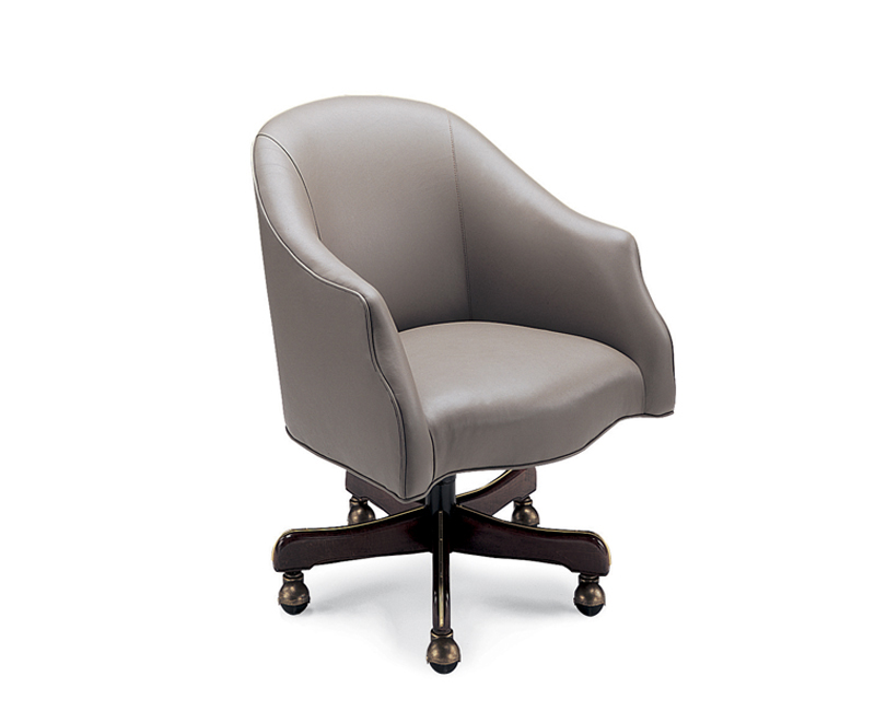 Cortez  Leather Desk Chair (Swivel Tilt)