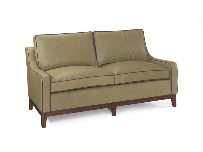 Megan Leather Loveseat