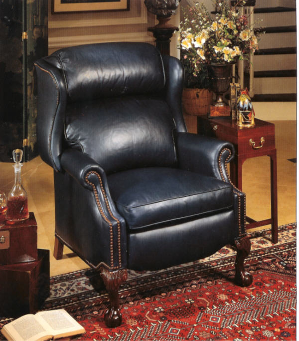 High Quality Leather Recliner Larger Sized And Custom Made