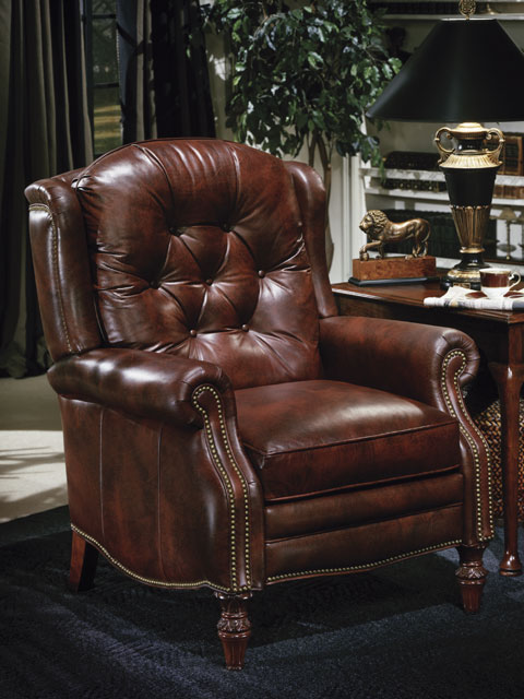 High Quality Leather Recliner Victoria By Bradington Young