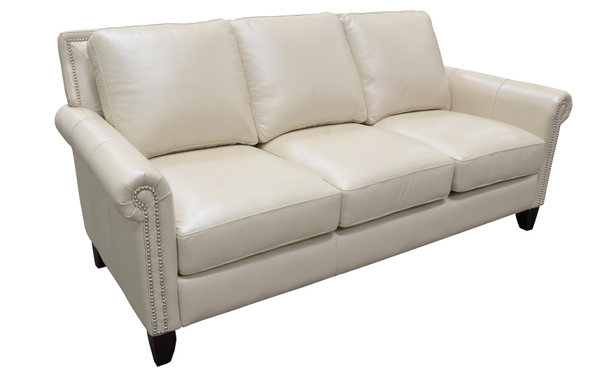 Benjamin Leather Loveseat