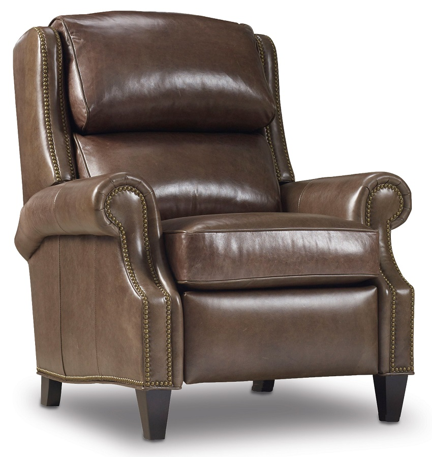Huss Leather Recliner