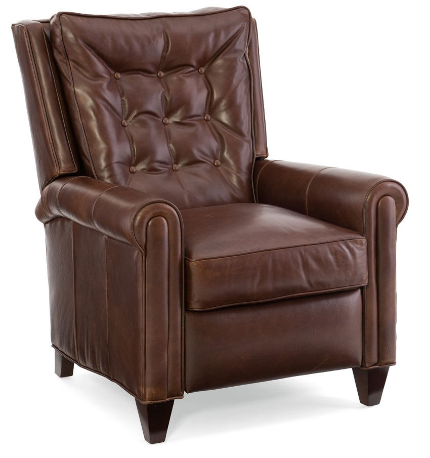 Willis Leather Recliner By Bradington Young