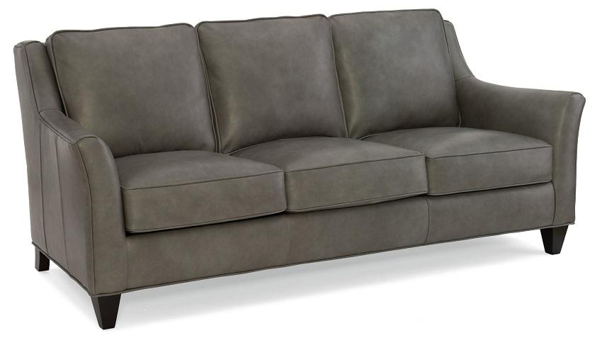 Barnes Leather Sofa By Bradington Young