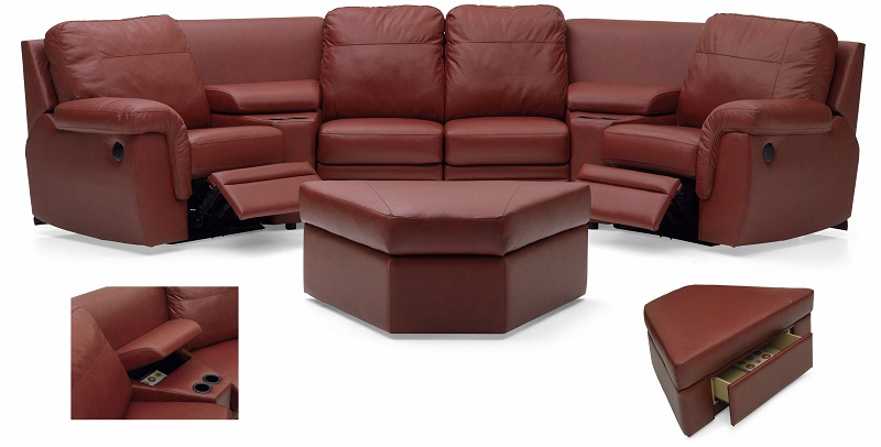Brunswick Leather Theatre Seating