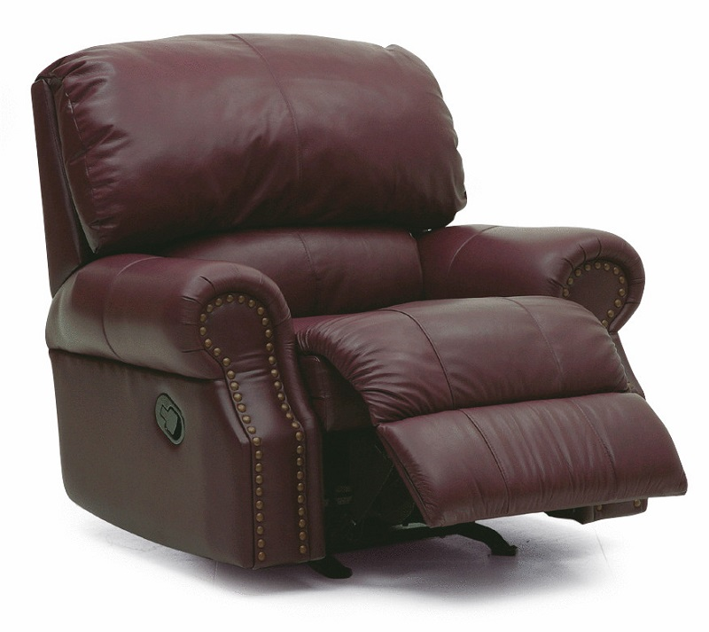 Charleston Leather Wall Hugger Recliner