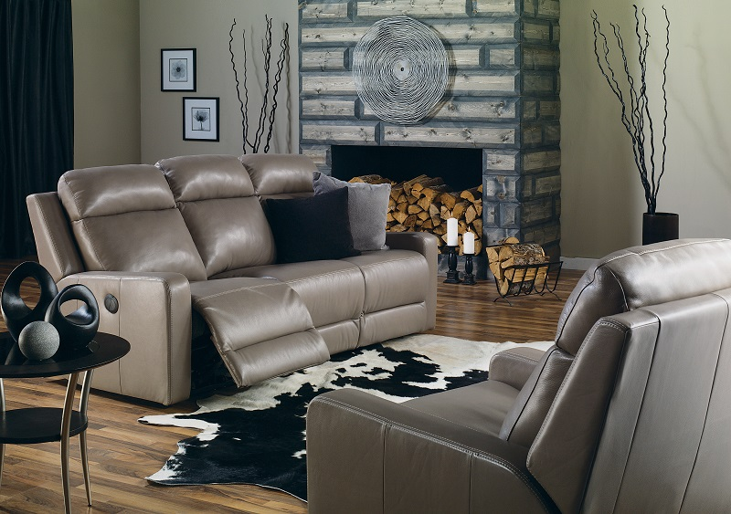 Forest Hill Leather Reclining Sofa