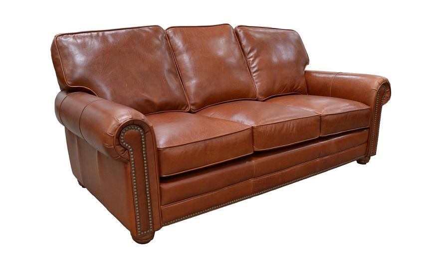 Leather Loveseats Kingsbury Leather Loveseat