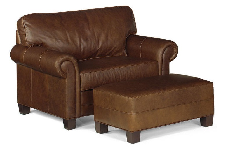 Dartmouth Leather Chair And A Half