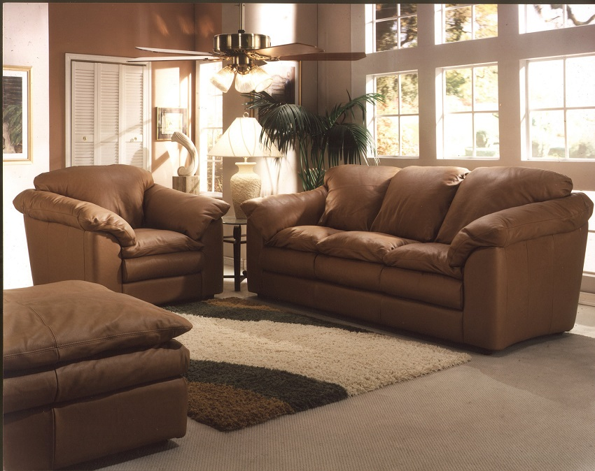 Leather Loveseats Oregon Leather Loveseat
