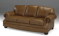 Lincoln Leather Sofa Sleeper