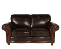 Whitaker Leather Loveseat