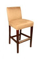 Atlas Leather Barstool