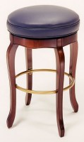 Leather Swivel Barstool