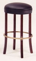 Eureka Leather Barstool