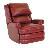 Hampton Leather Tall Back Recliner