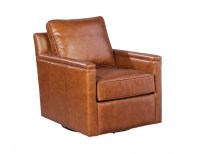 Alexandria Leather Swivel Chair