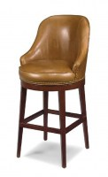 Casino Leather Bar Chair