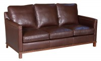 Vonn Leather Sofa