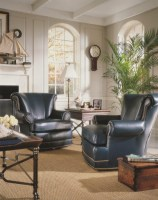 Conklin Leather Swivel Chair