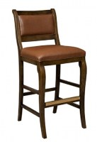 Dallas Leather Bar Stool