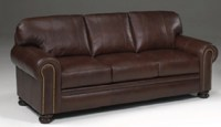 Becker Leather Sofa
