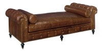 Baton Rouge Leather Day Bed