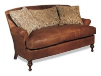 Oliver Leather Settee