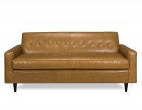 Percy Leather Sofa