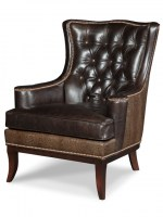 Erie leather chair