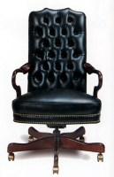 Stallings Leather Swivel Chair